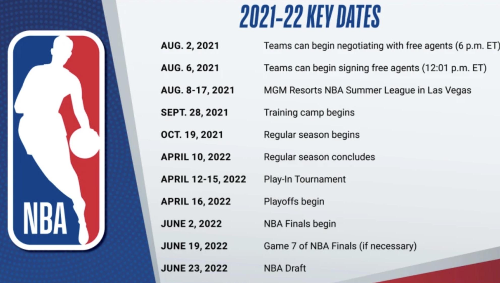 New season NBA schedule released