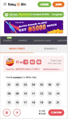 Lotto Naira Power